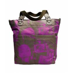 Bolso coche/maternal Tote Sack Olive Violet