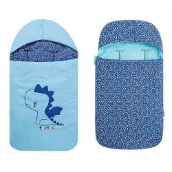 Saco cuco capucha reversible azul Enjoy & Dream Tuc Tuc